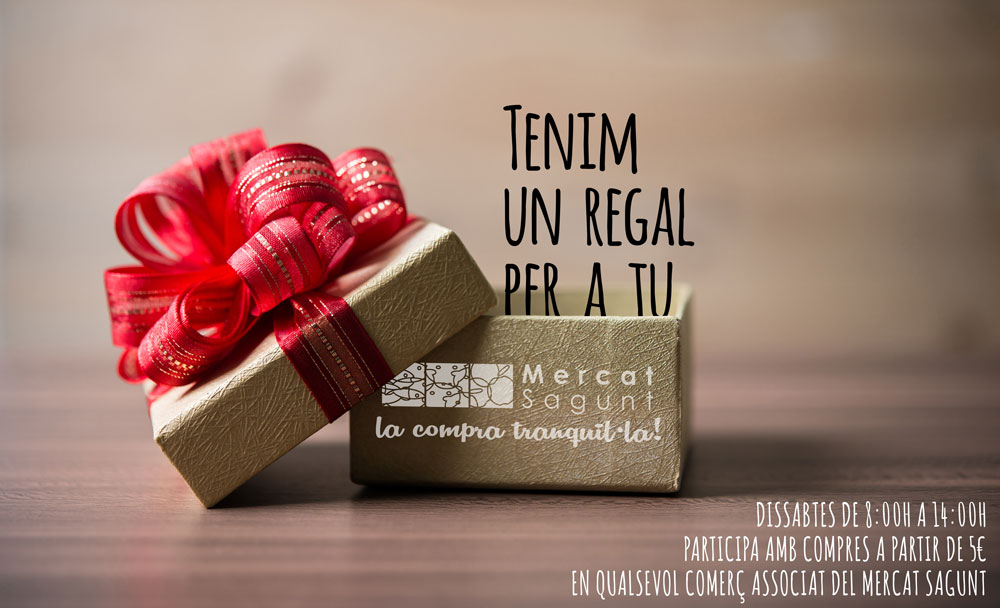Tenim regal per a tu!!!